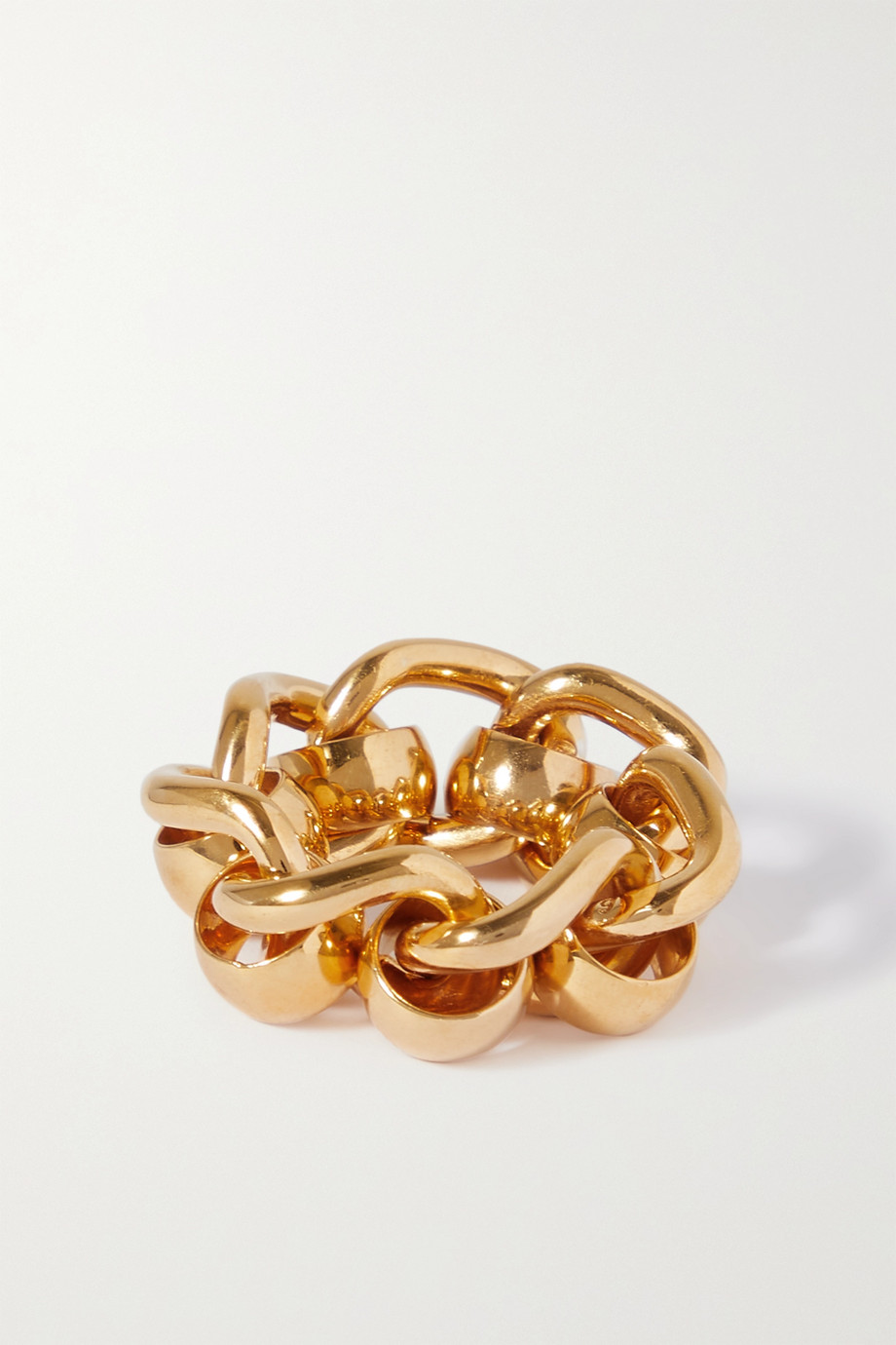 Bottega Veneta Gold-plated ring