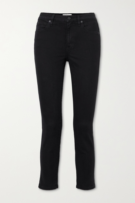 SLVRLAKE - Lou Lou cropped mid-rise slim-leg jeans