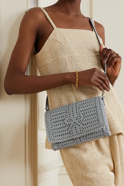 Anya Hindmarch The Neeson woven leather shoulder bag