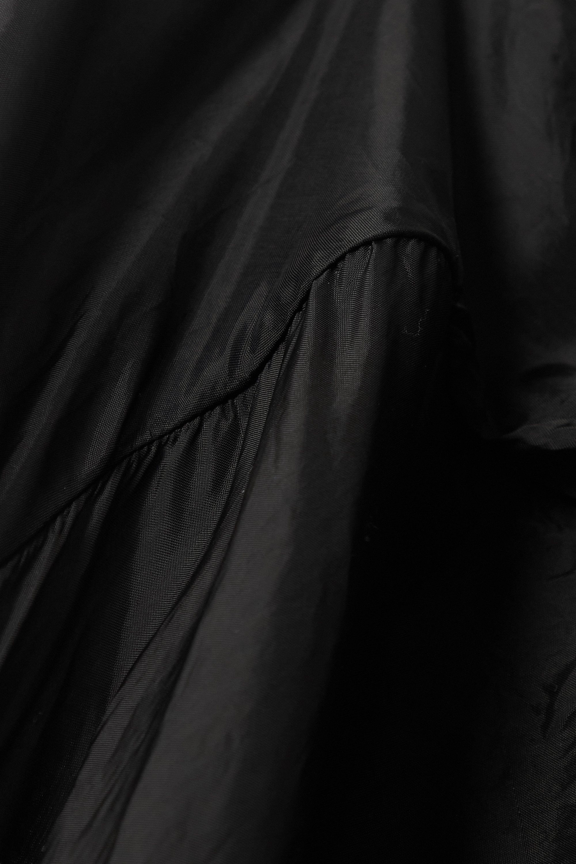 Rick Owens Laura cupro halterneck maxi wrap dress