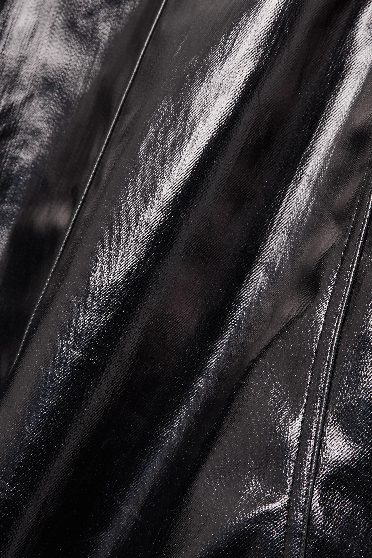 Rick Owens Coated cotton-blend midi dress