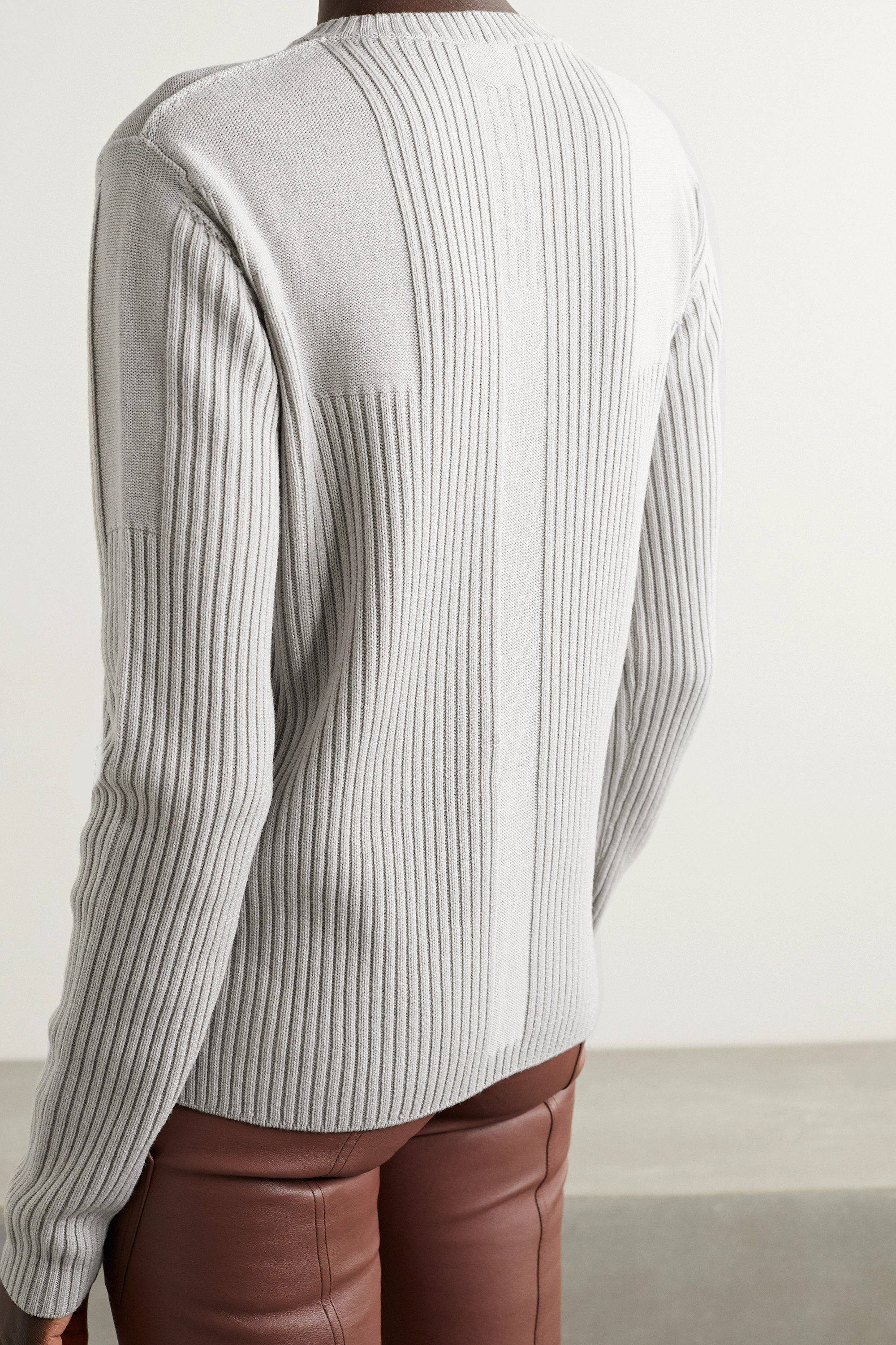 Rick Owens Ribbed wool sweater