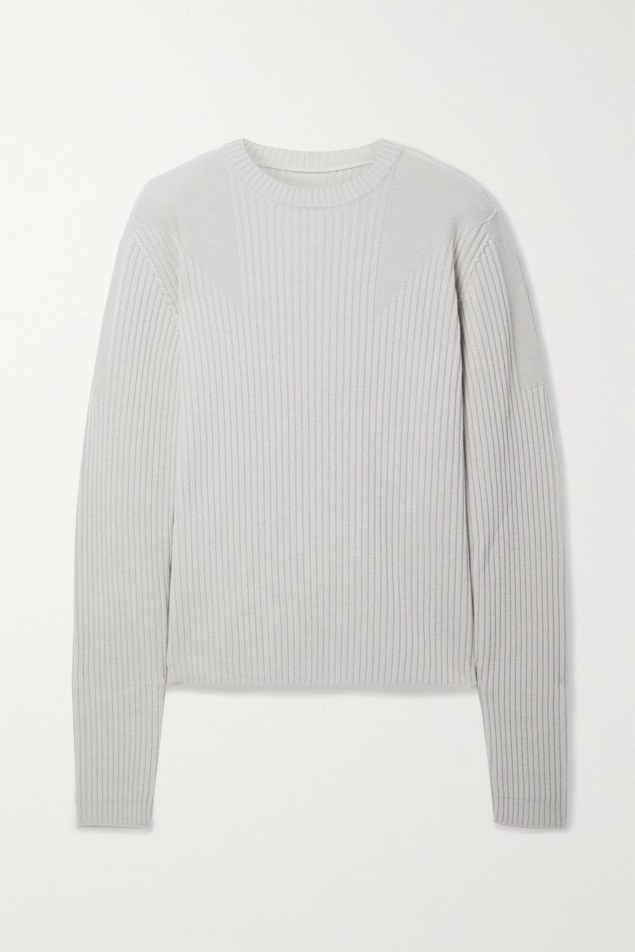 Rick Owens Gerippter Pullover aus Wolle