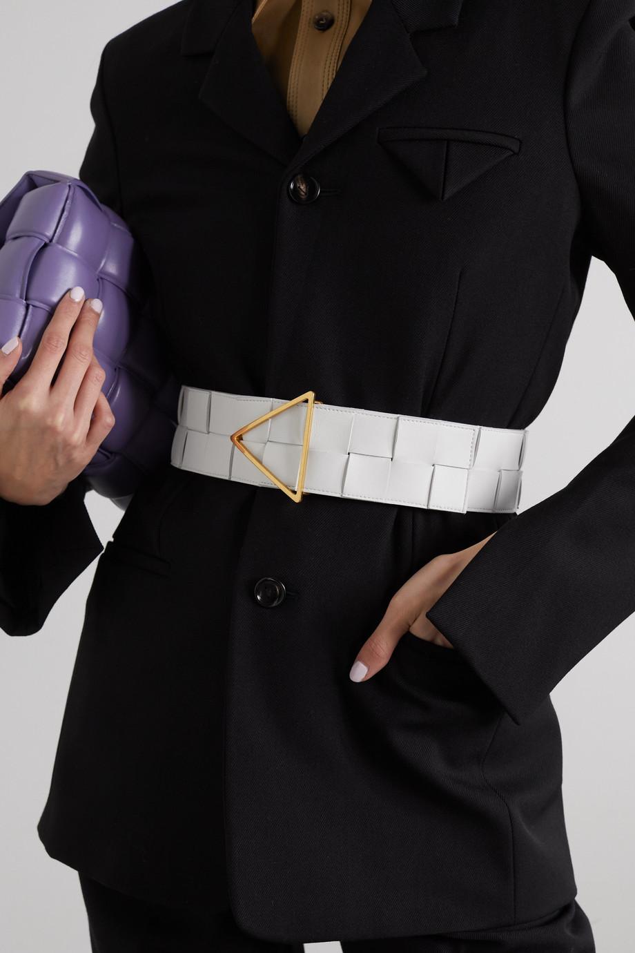 Bottega Veneta Taillengürtel aus Intrecciato-Leder