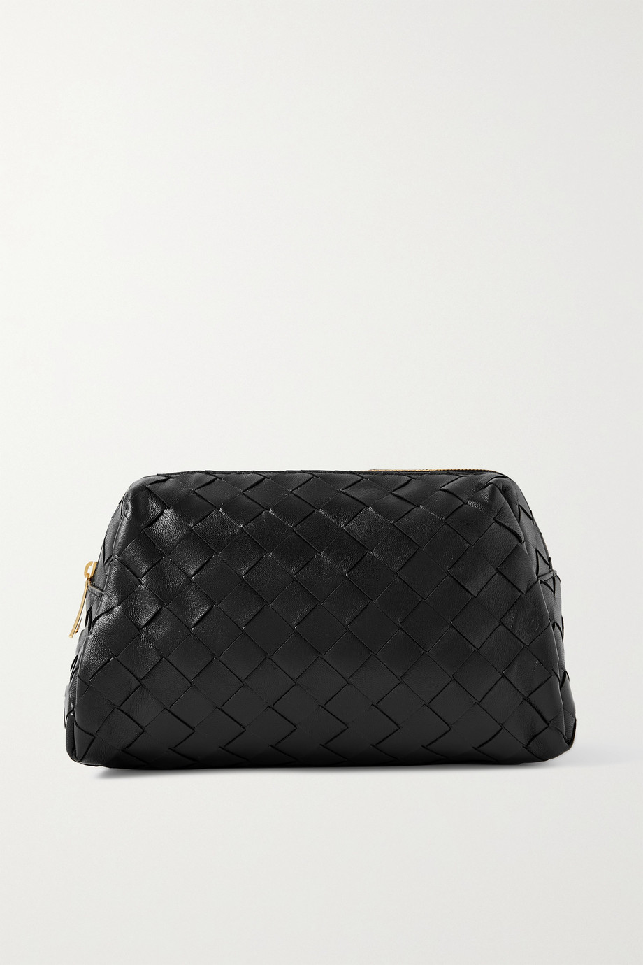 Bottega Veneta Mittelgroße Kosmetiktasche aus Intrecciato-Leder