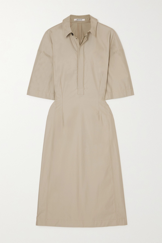 Gauchère SAFINA COTTON-POPLIN SHIRT DRESS