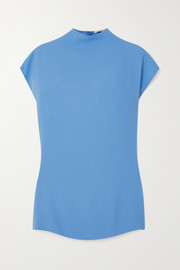 GAUCHERE Sibbie crepe top