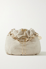 Rosantica Bubble medium chain-embellished canvas tote