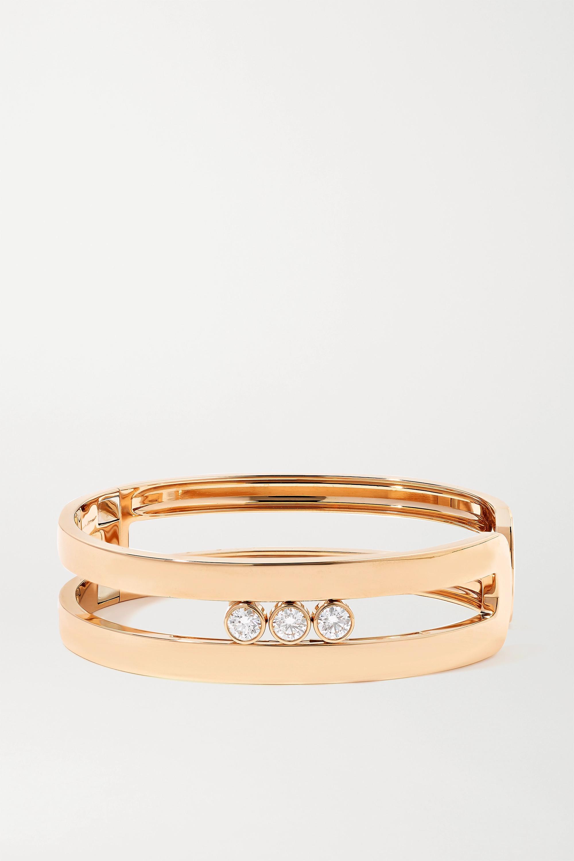 Messika Move Ron 18-karat rose gold diamond cuff