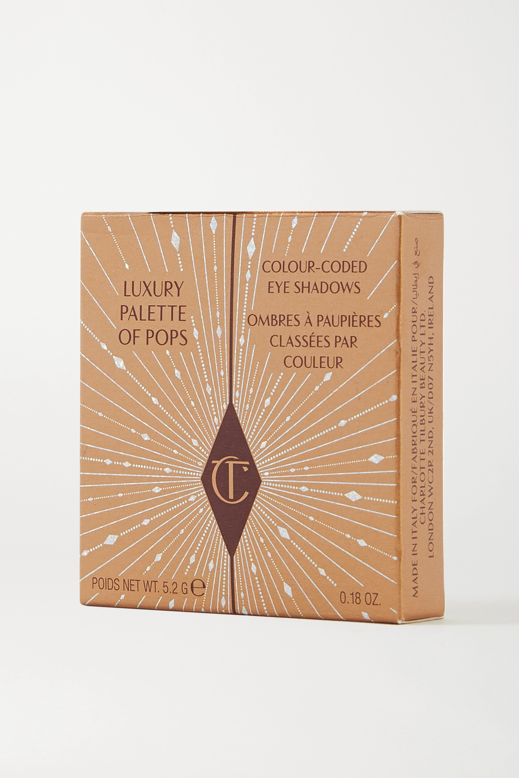 Charlotte Tilbury Luxury Palette of Pops Eyeshadow Quad – Dazzling Diamonds – Lidschattenpalette