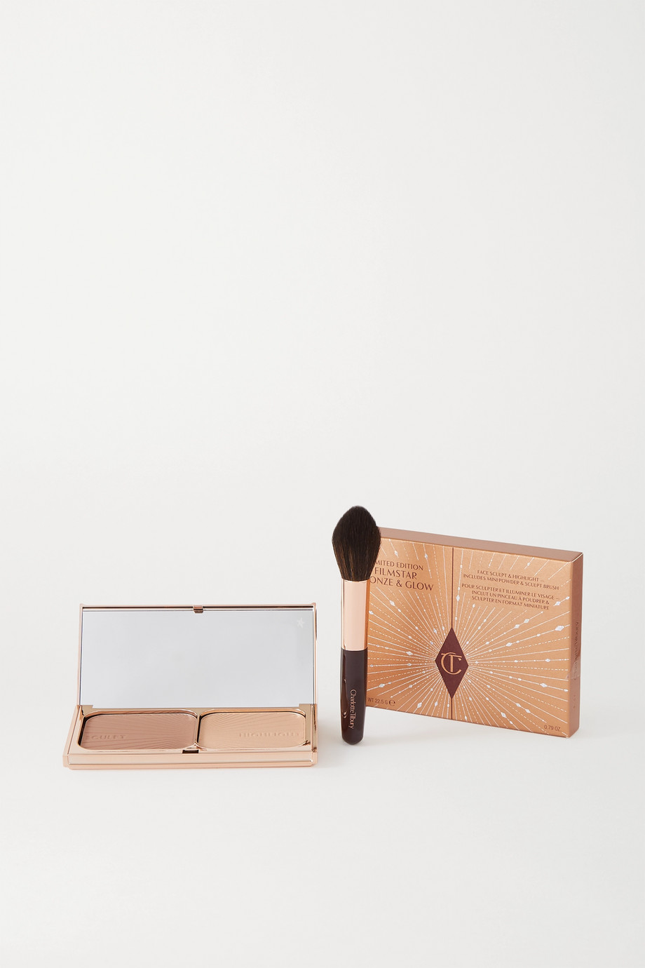 Charlotte Tilbury Duo de poudres Filmstar Bronze & Glow, Medium to Dark