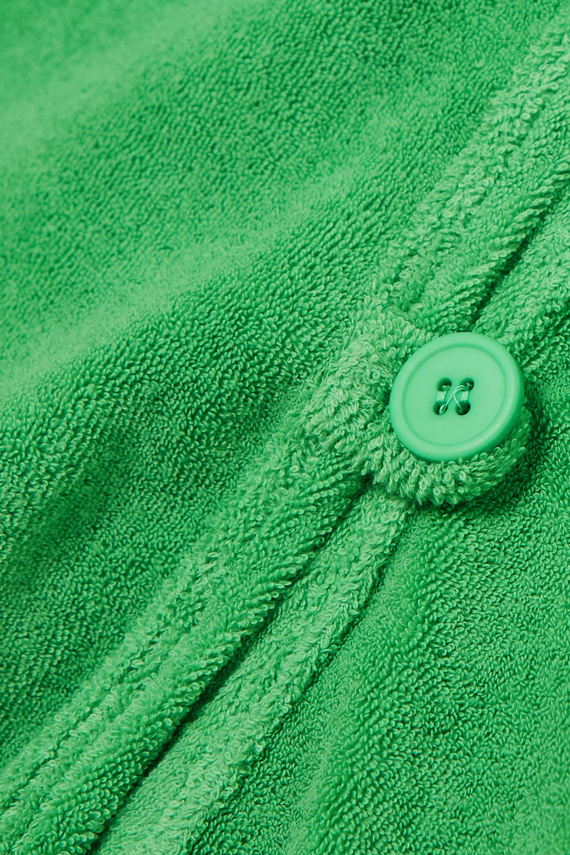 Maisie Wilen New Curriculum Hemd aus Frottee aus einer Baumwollmischung