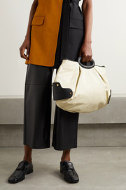 Marni Balloon medium two-tone leather tote