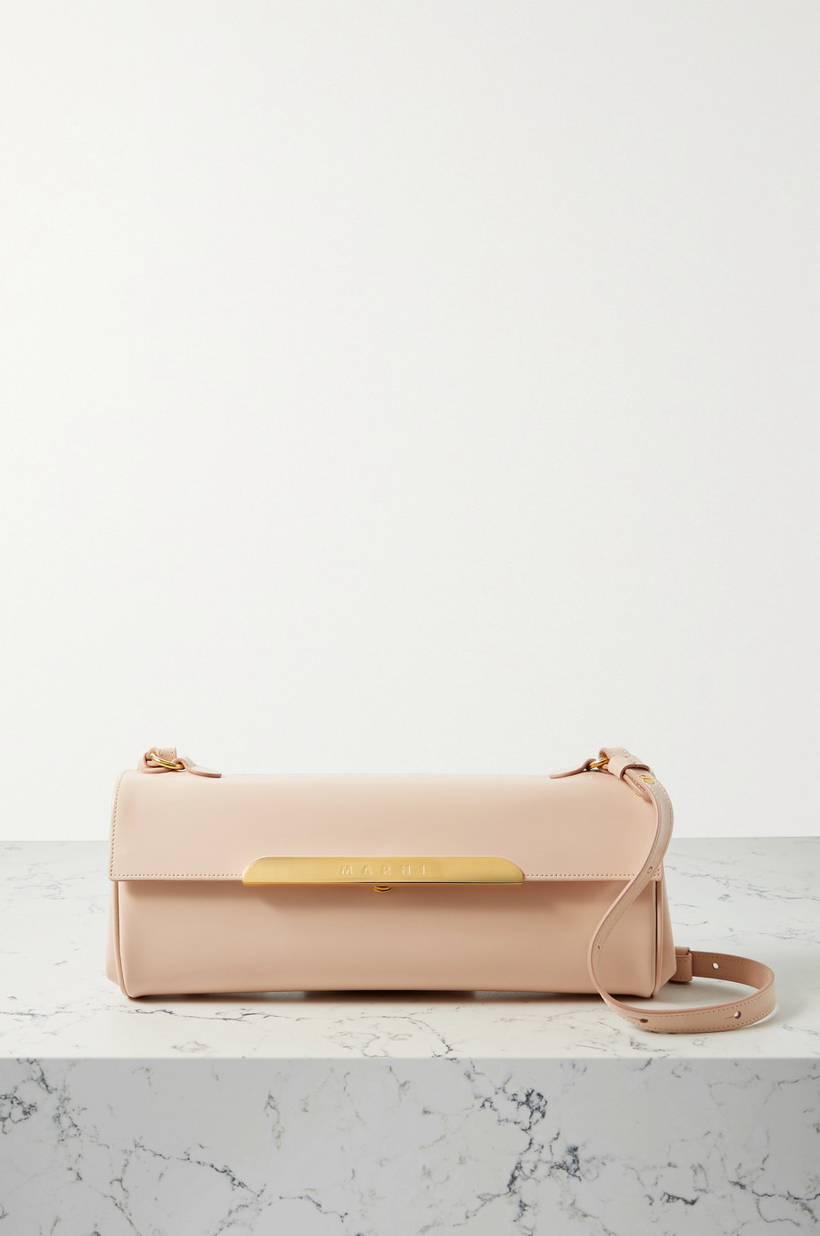 Marni Corinne medium leather shoulder bag