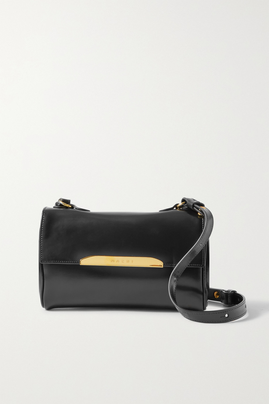 Marni Corinne mini leather shoulder bag