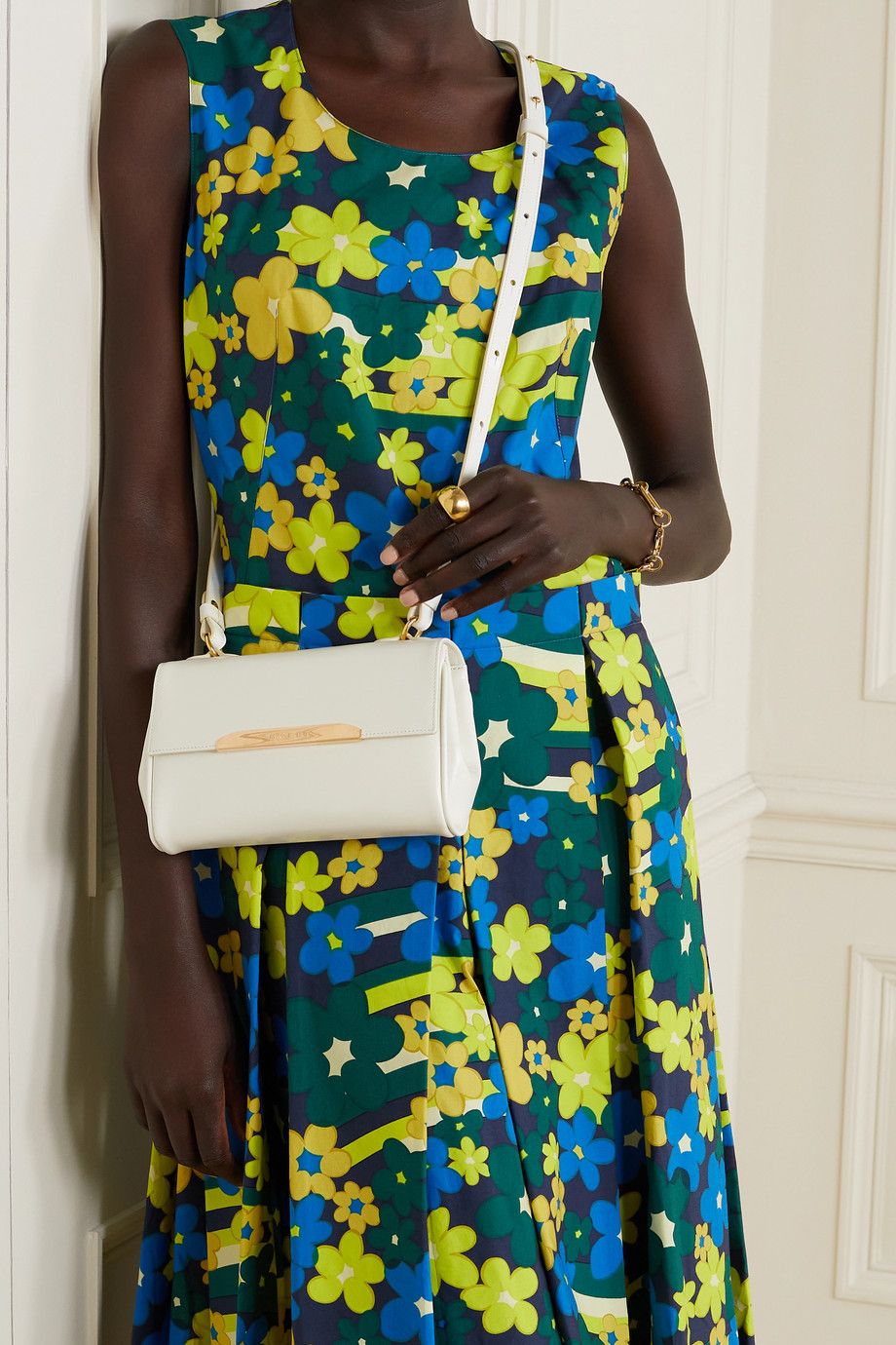 Marni Corinne mini leather shoulder bag