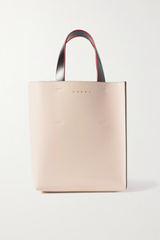 Marni Museo mini color-block leather tote