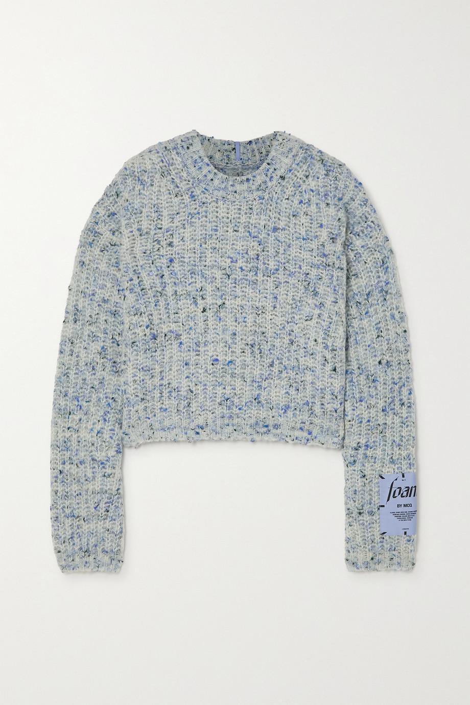 MCQ Appliquéd wool-blend sweater