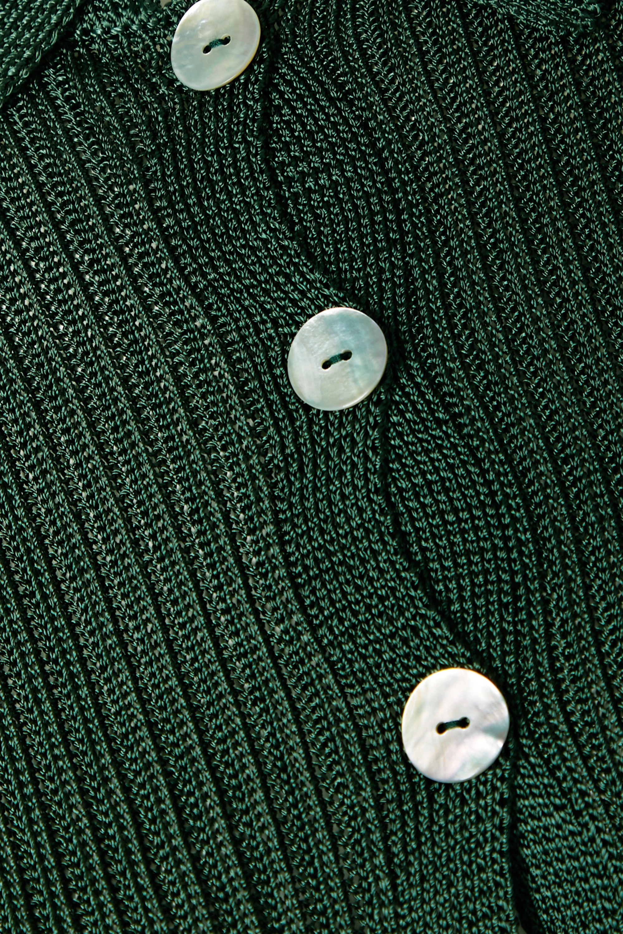 Calle Del Mar + NET SUSTAIN ribbed-knit cardigan