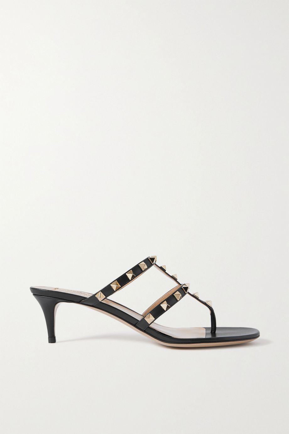 Valentino Valentino Garavani Rockstud 50 leather sandals