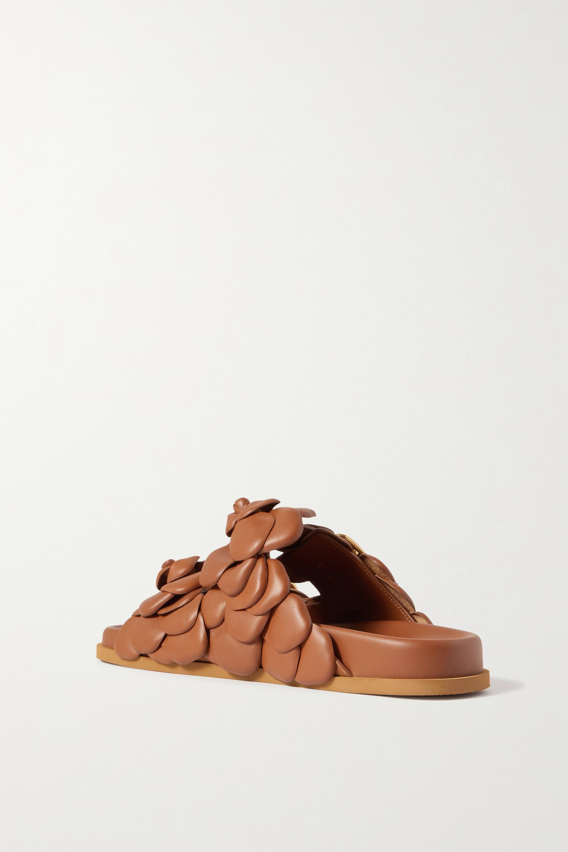 Valentino Valentino Garavani 03 Rose Edition Atelier leather sandals