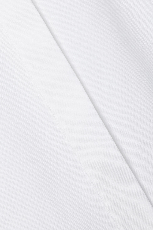 Helmut Lang Tie-detailed cotton-poplin shirt