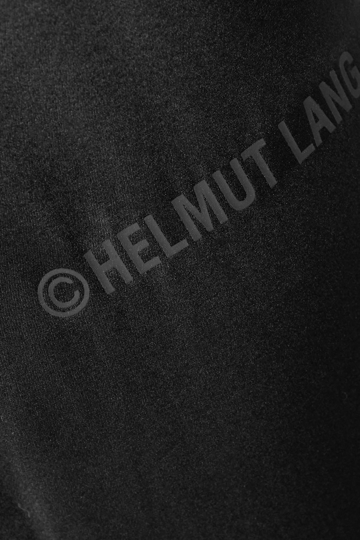 Helmut Lang Silk-blend satin wide-leg pants