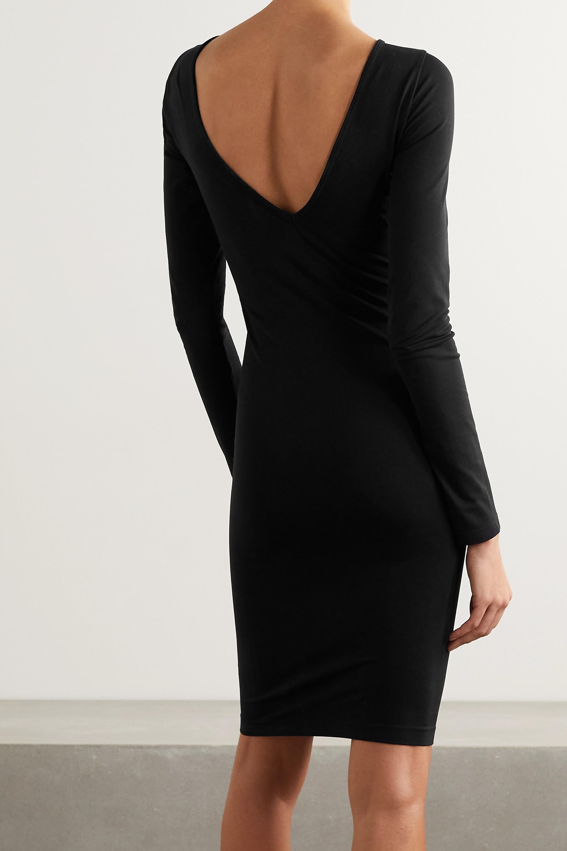 Helmut Lang Cutout stretch-jersey dress