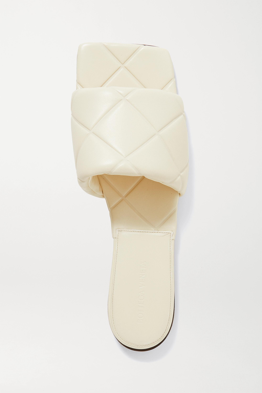 Bottega Veneta Claquettes en cuir gaufré