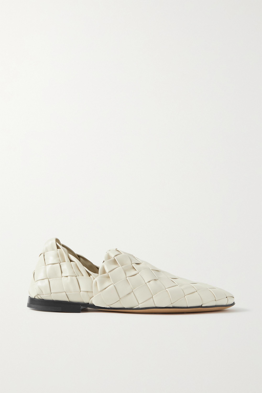 Bottega Veneta Loafers aus Intrecciato-Leder mit einklappbarer Fersenpartie