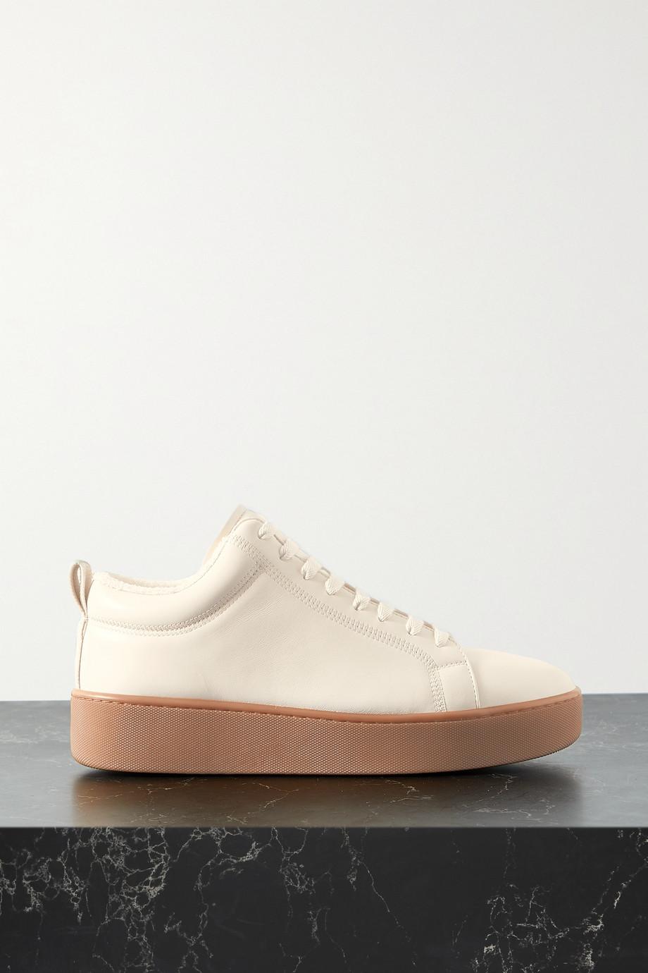 Bottega Veneta Plateau-Sneakers aus Leder
