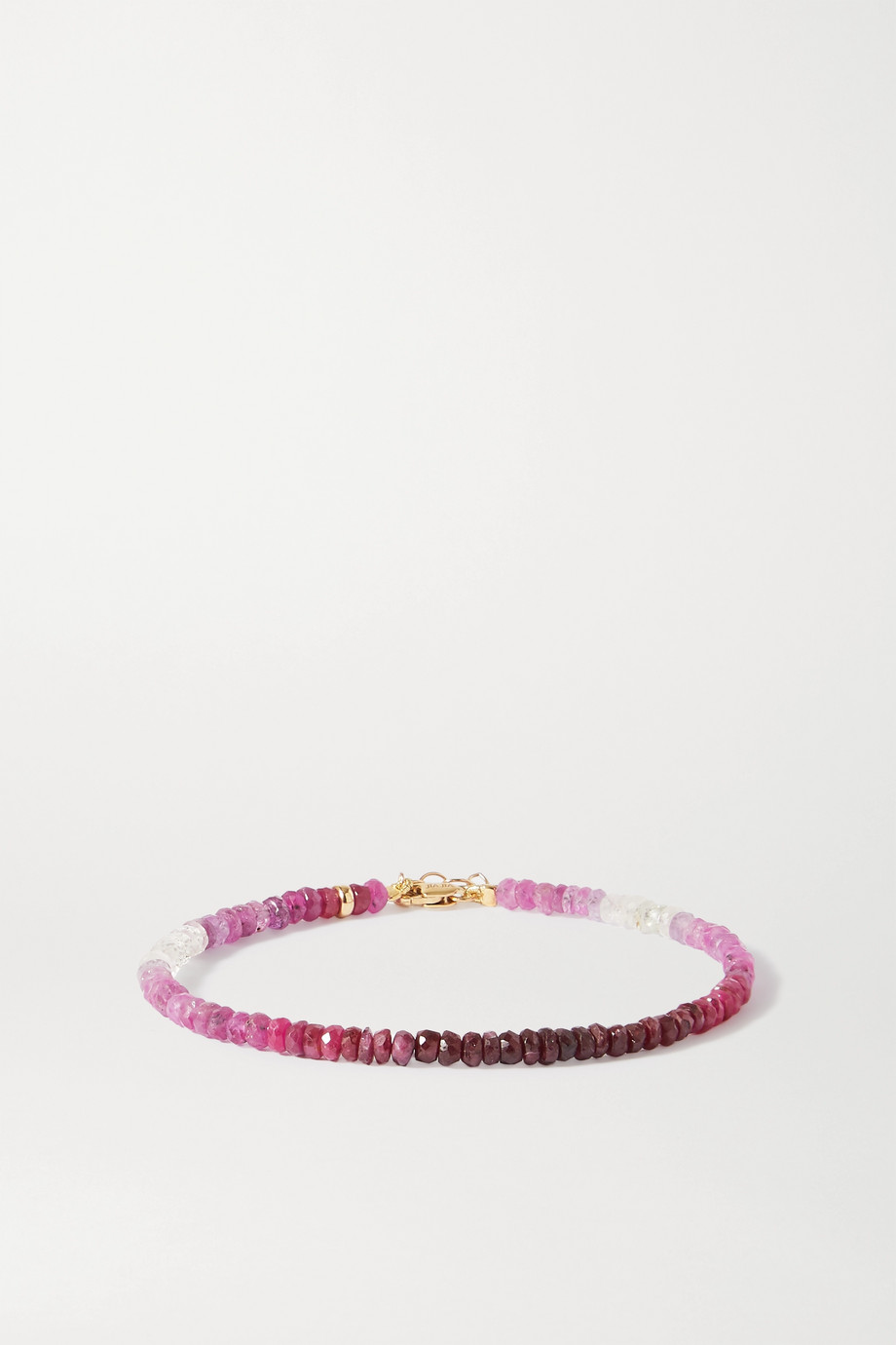 JIA JIA Arizona gold ruby bracelet