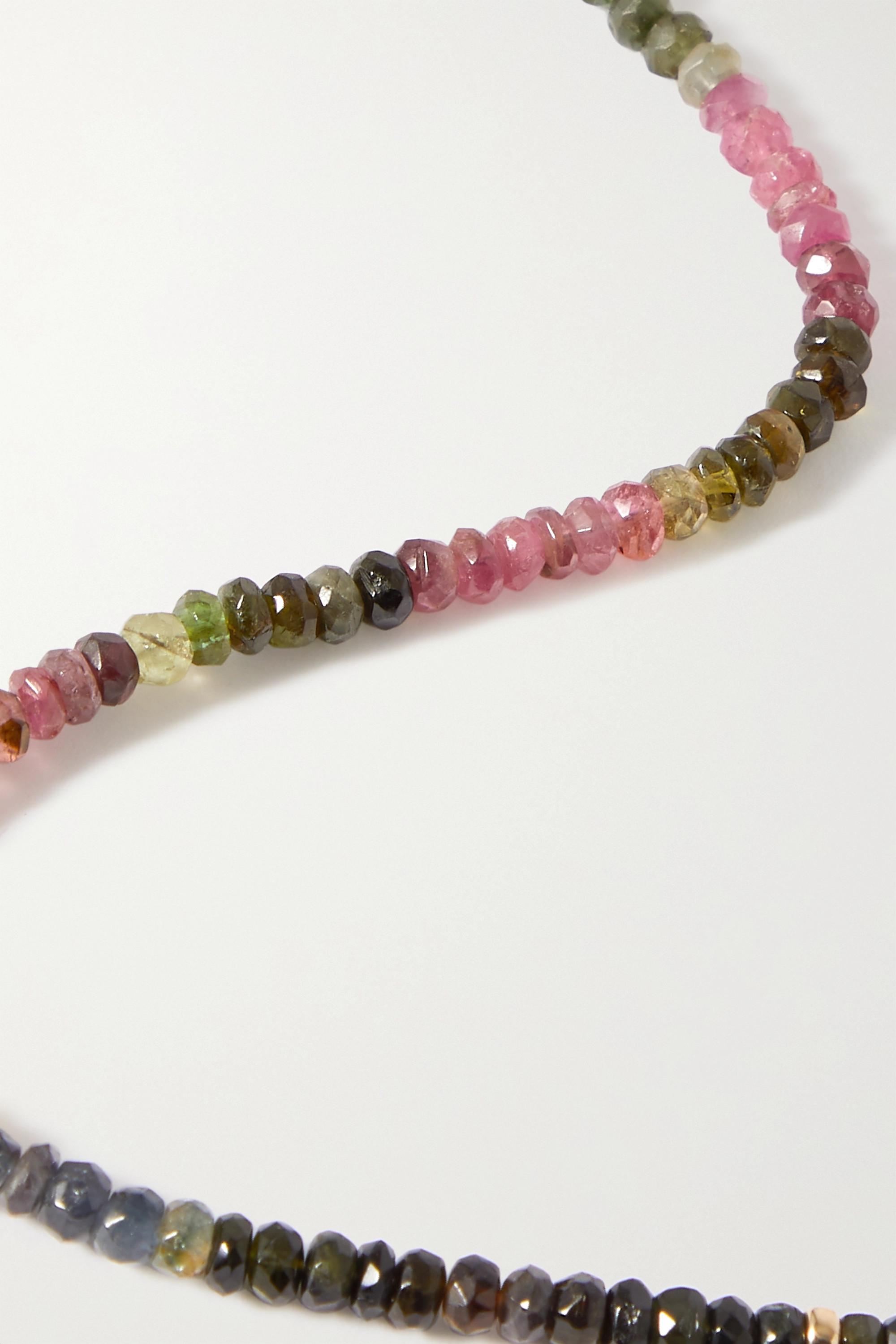 JIA JIA Arizona gold, tourmaline and amethyst necklace