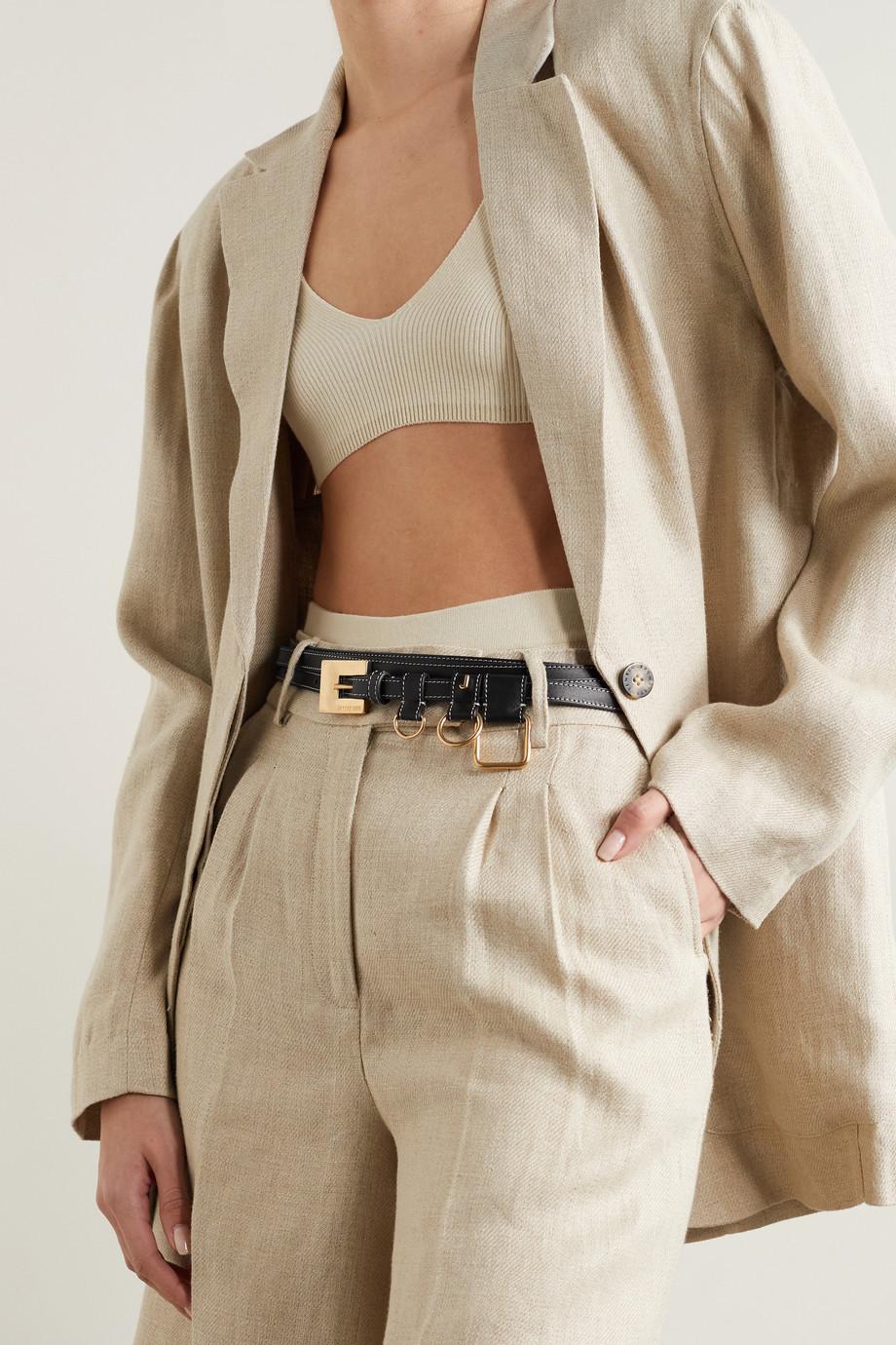 Jacquemus Leather waist belt