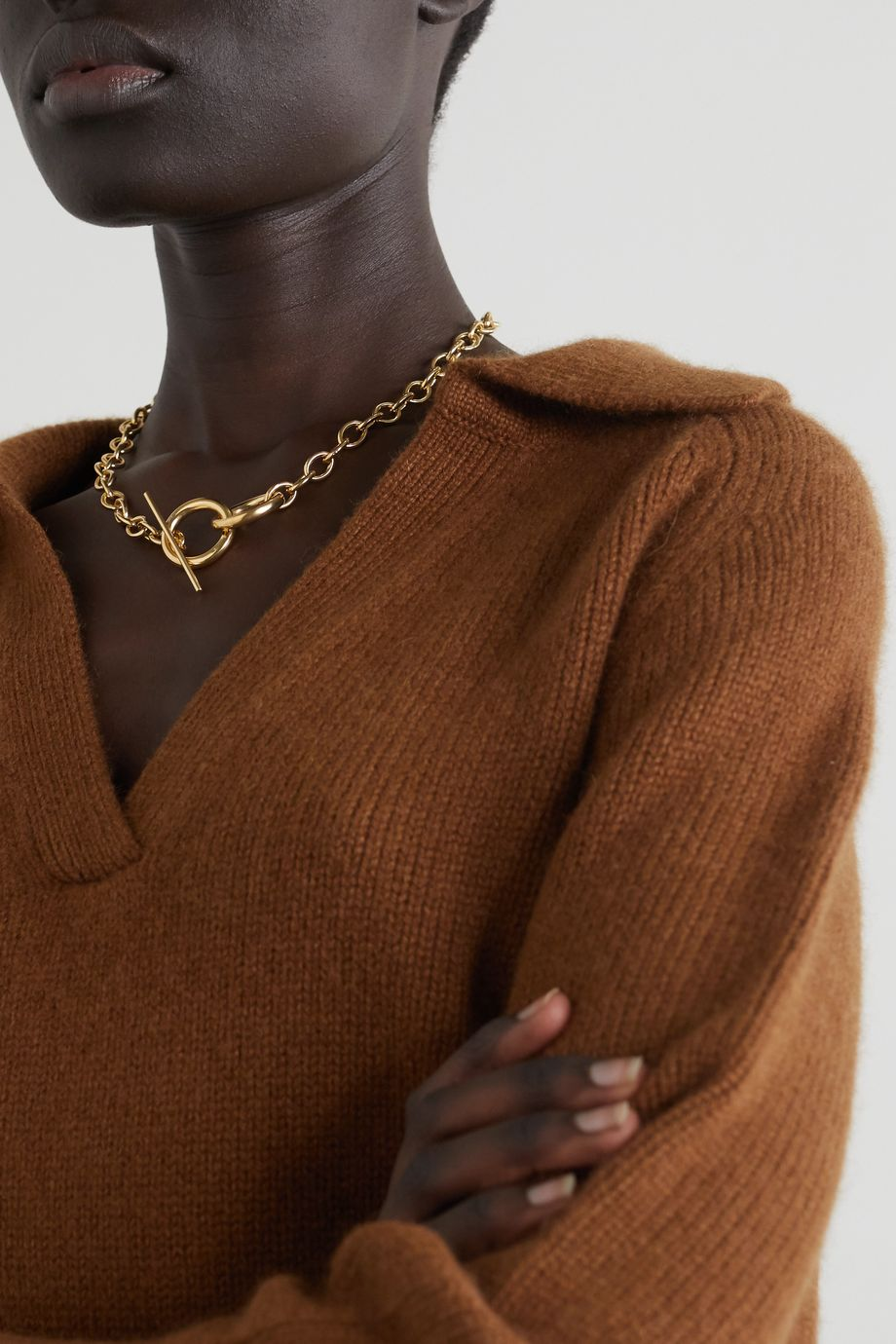 Loren Stewart Anais gold vermeil necklace