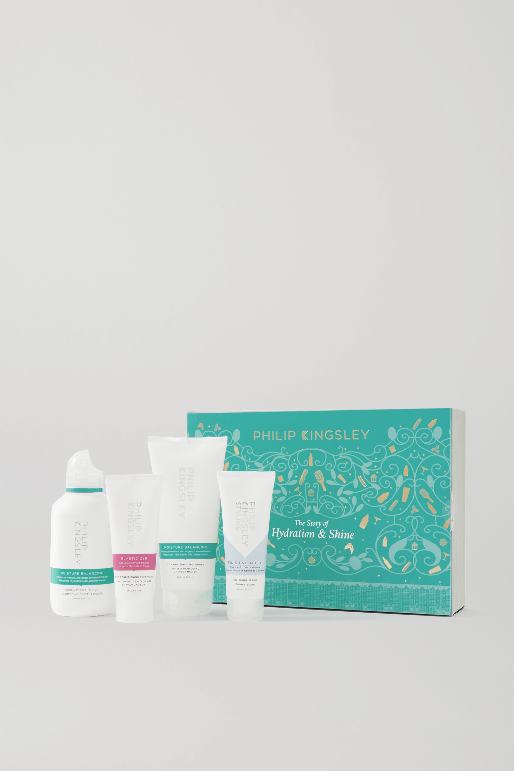 PHILIP KINGSLEY The Story of Hydration & Shine Hair Set
