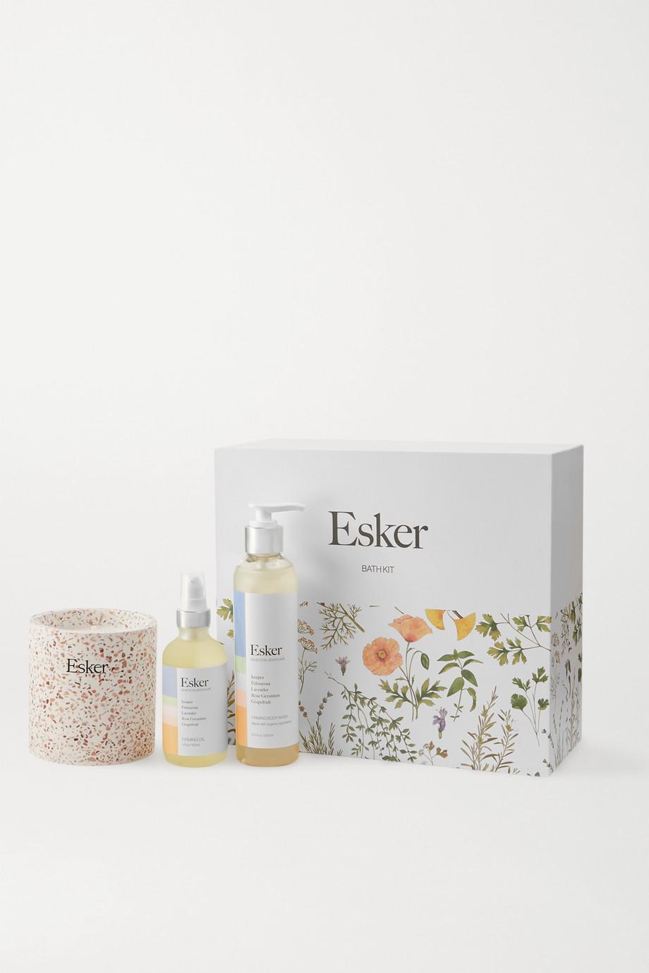 Esker Beauty Coffret pour le bain raffermissant