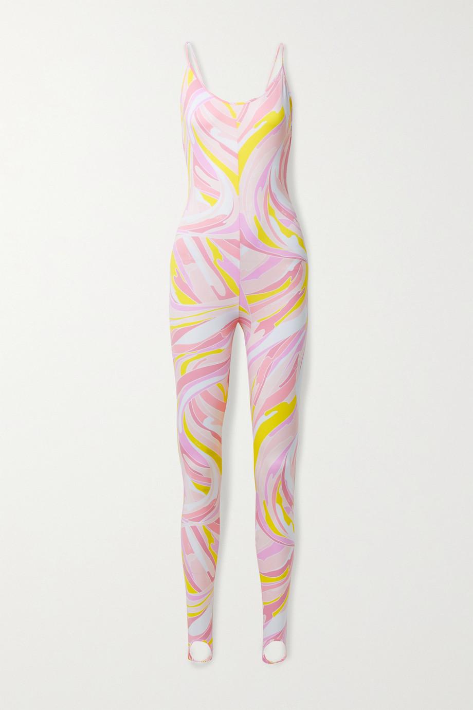 Emilio Pucci Printed stretch-jersey bodysuit