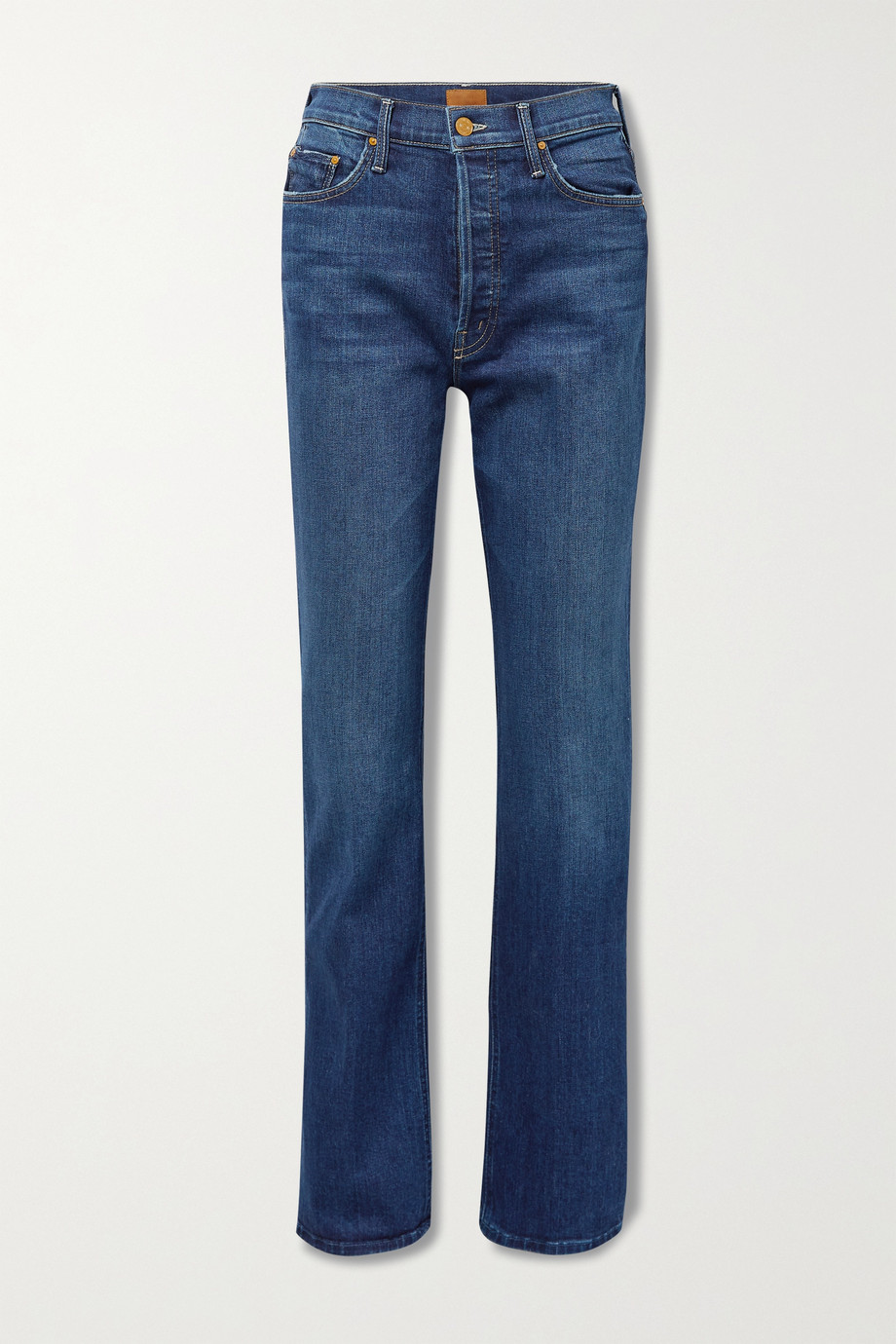 MOTHER The Tripper Sneak high-rise straight-leg jeans