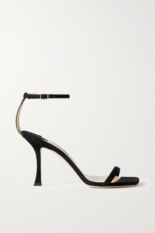 Jimmy Choo Marin 90 suede sandals