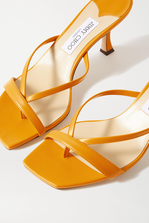 Jimmy Choo Maelie 70 leather sandals
