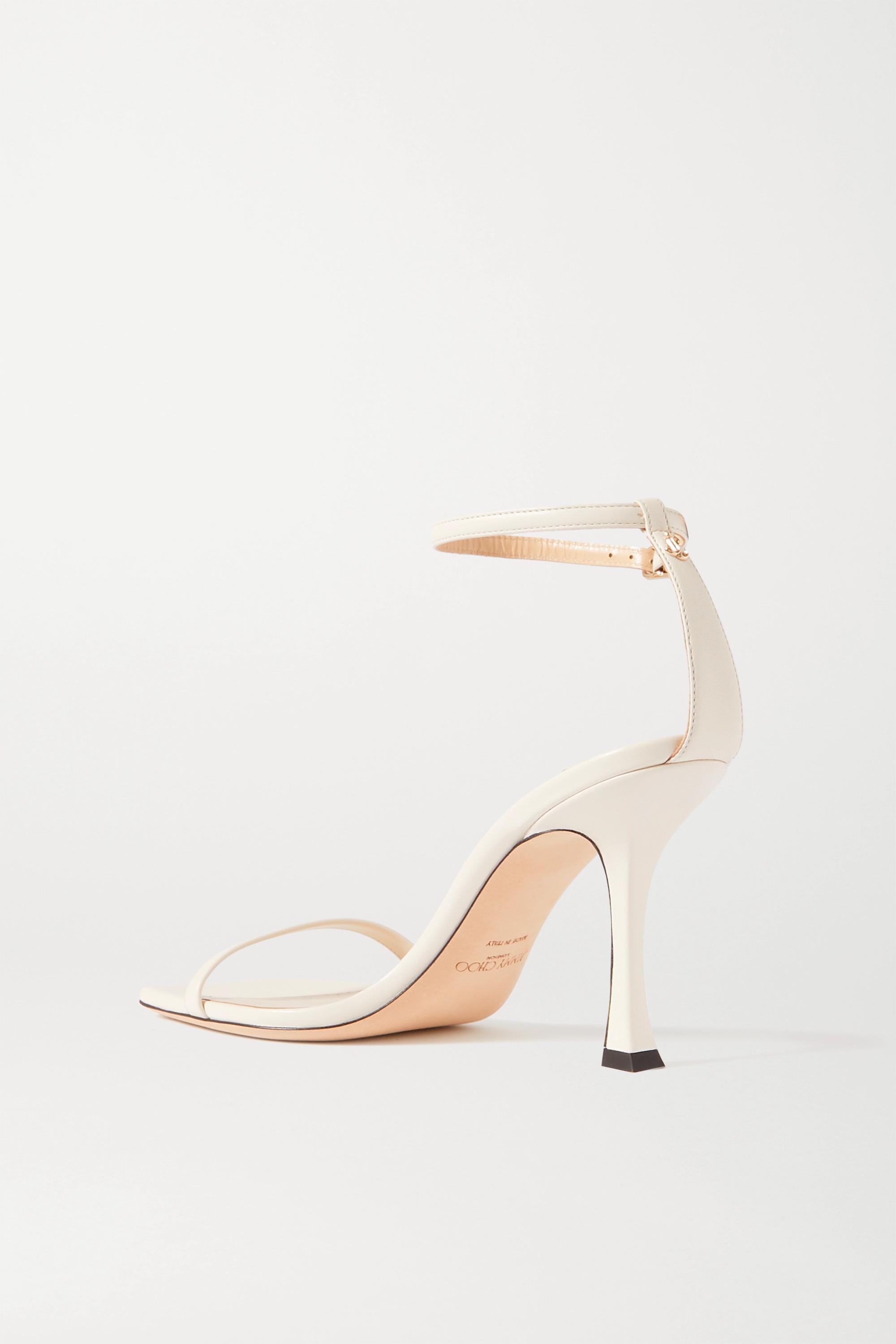 Jimmy Choo Marin 90 leather sandals