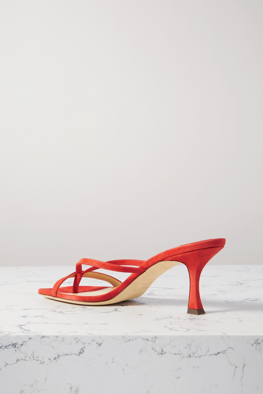 Jimmy Choo Maelie 70 suede sandals