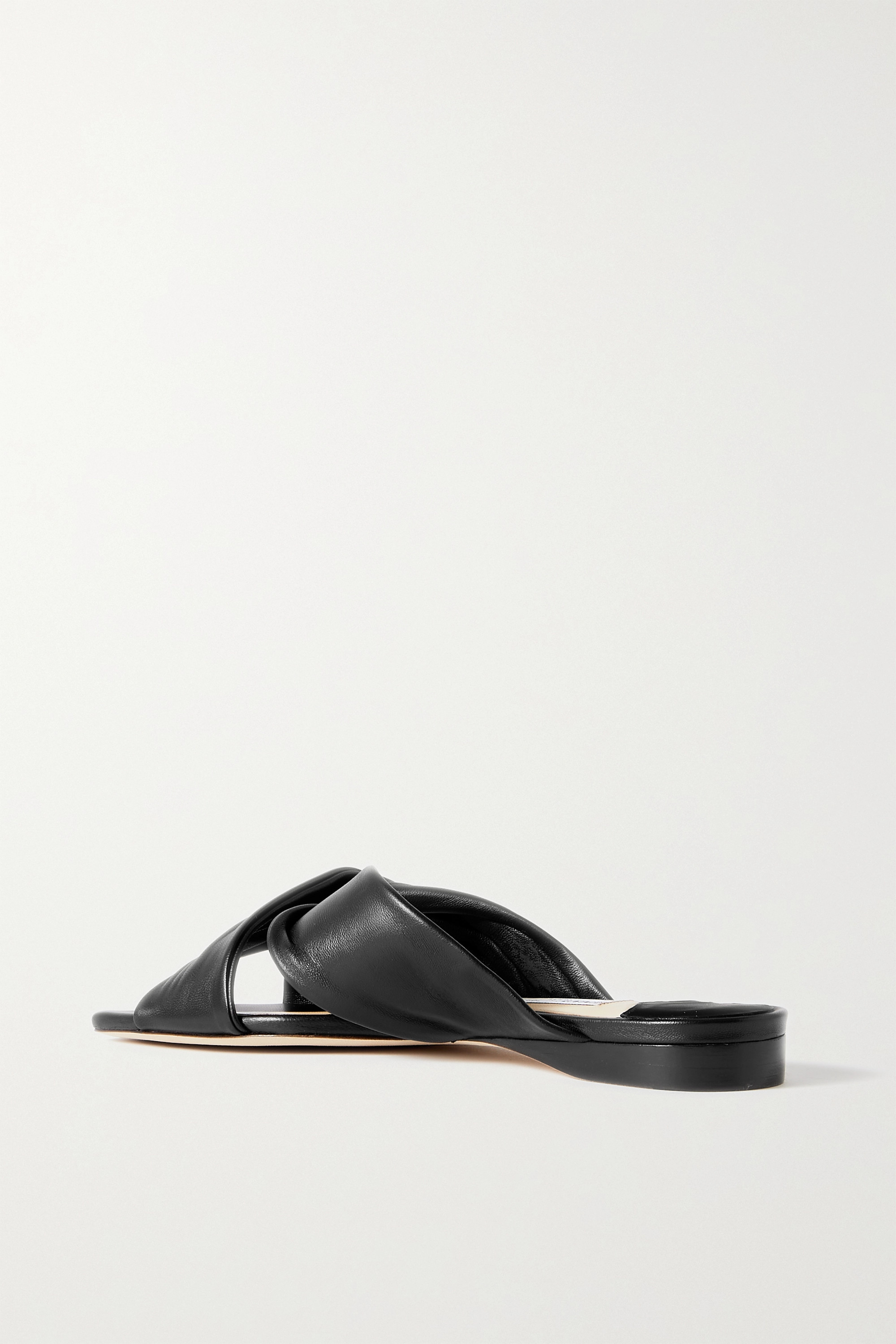 Jimmy Choo Narisa knotted leather sandals