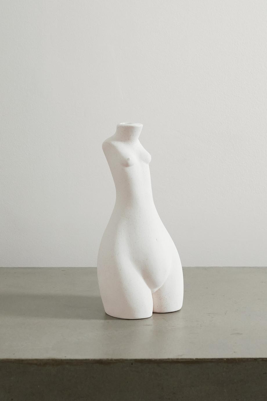 Anissa Kermiche Tit for Tat ceramic candlestick