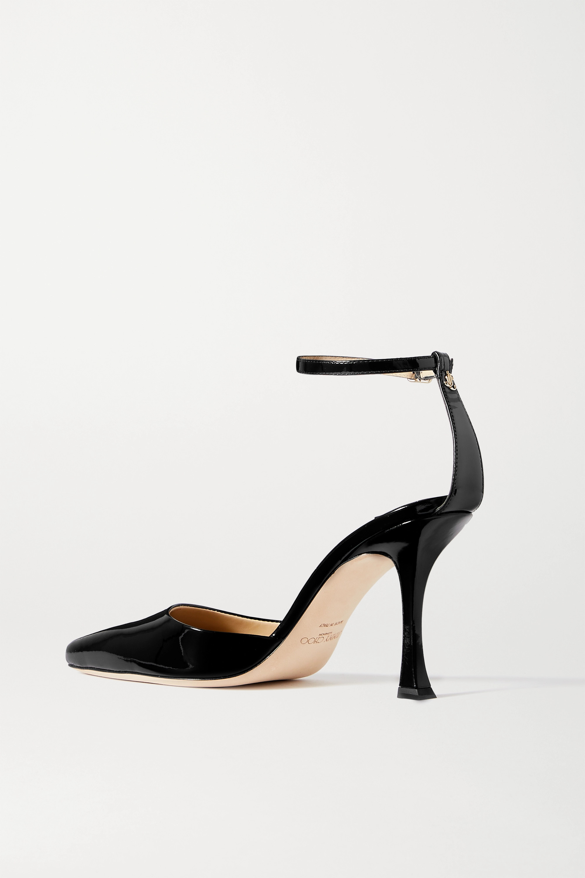 Jimmy Choo Mair 90 patent-leather pumps