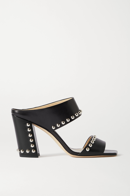 Jimmy Choo Matty 85 studded leather sandals