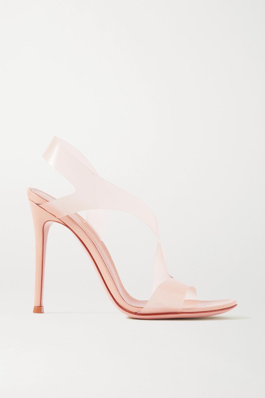Gianvito Rossi 105 PVC slingback sandals