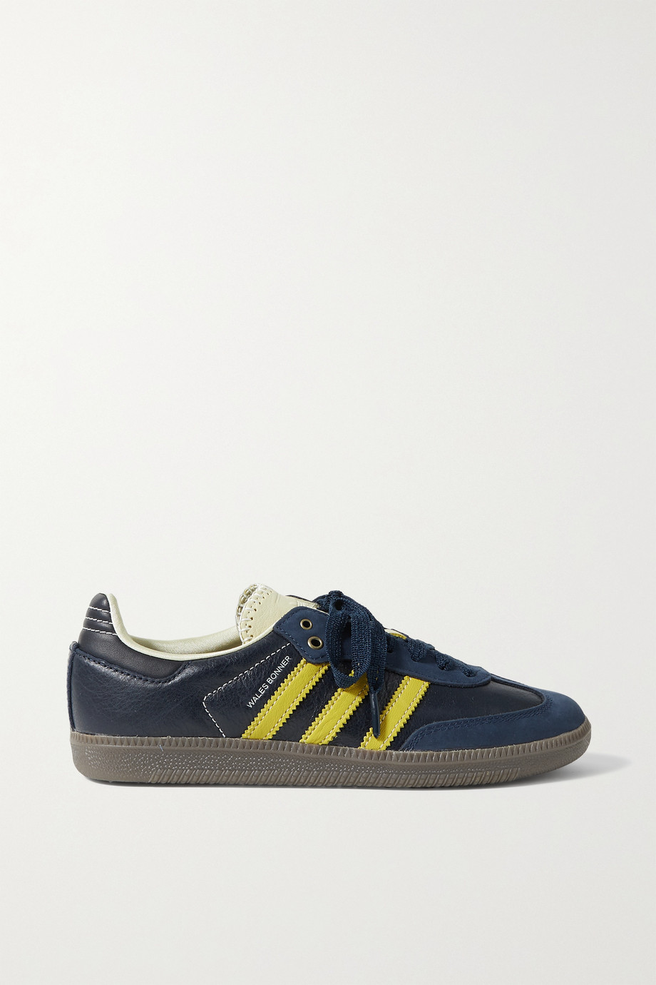 adidas Originals Baskets en cuir à finitions en nubuck Samba x Wales Bonner