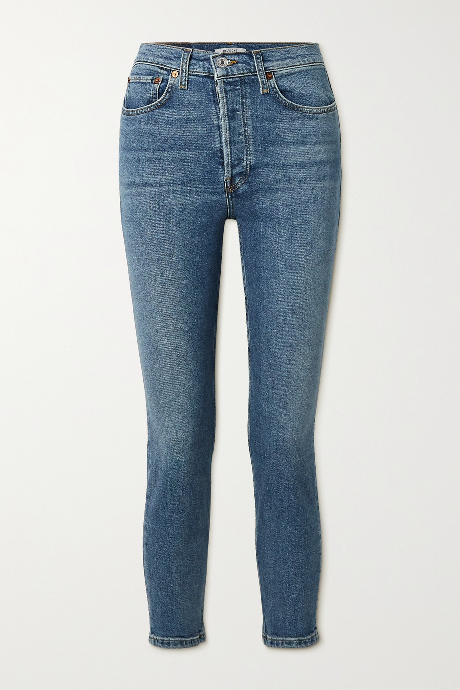 RE/DONE Jean skinny Comfort Stretch High-Rise Ankle Crop 90s